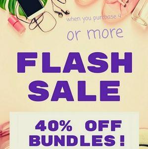 Flash sale on bundles!!!!